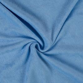 Froté prostěradlo (90 x 200 cm) - světle modré