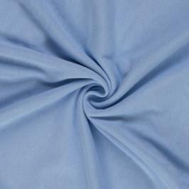 Jersey prostěradlo (140 x 200 cm) - světle modré