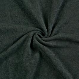 Froté prostěradlo (80 x 200 cm) - černé