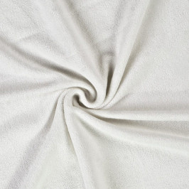 Froté prostěradlo (80 x 200 cm) - bílé