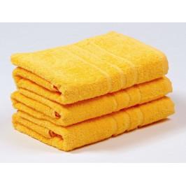 Koupelnový set COMFORT malý 1+1 - Žlutá