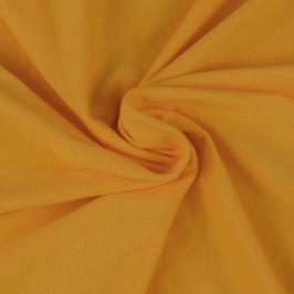 Jersey prostěradlo (140 x 200 cm) - sytě žluté