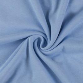 Jersey prostěradlo (120 x 200 cm) - světle modré