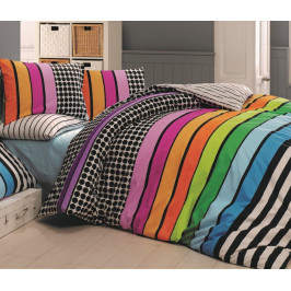 Bavlněné povlečení 240x220,70x90 Stripes DUO