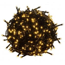 Goleto Vánoční LED osvětlení 40 m   teplá bílá 400 LED   zelený kabel
