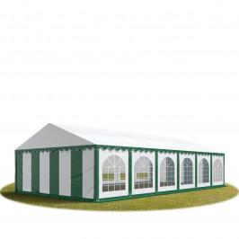 Goleto Párty stan Premium 6 x 12 m   zeleno-bílý