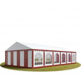 Goleto Párty stan Premium 6 x 12 m   červeno-bílý