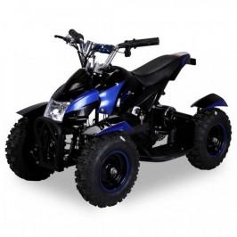 Goleto Dětská elektrická čtyřkolka ATV 800 W | černá|modrá