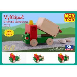 Moy Toy Dřevěná stavebnice Vyklápěč Moy Toy