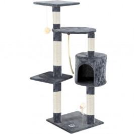 Škrabadlo pro kočky 113x75x40 cm   šedé