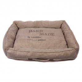 Lex & Max Luxusní pelíšek pro psa Lex & Max Hand Made 60 x 45 cm | béžový