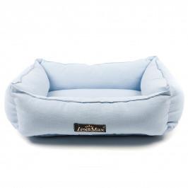 Lex & Max Luxusní pelíšek pro psa Lex & Max Tivoli 40 x 50 cm | světle modrý