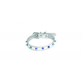 Croci Obojek Croci Silver Crystal 2x40cm