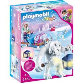 Playmobil Playmobil 9473 Sněžný muž a sáně