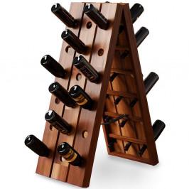 Stojan na víno 87 cm skládací | akáciové dřevo