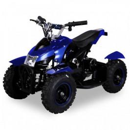 Goleto Dětská elektrická čtyřkolka ATV 800 W | modrá metalíza