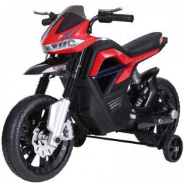 Goleto Dětská elektrická motorka 105 x 52,3 x 62,3 cm | červeno-černá