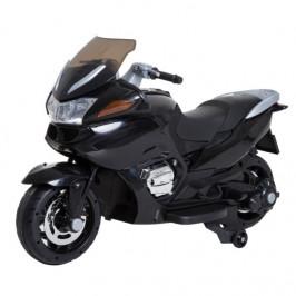 Goleto Luxusní dětská elektrická motorka 120 x 60 x 65 cm | černá