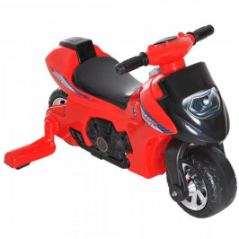 Goleto Dětská motorka 46 x 66 x 43 cm | červeno-černá