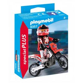 Playmobil Playmobil 9357 Motokrosový závodník