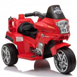 Goleto Dětská elektrická motorka POLICE | červená