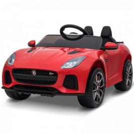 Goleto Luxusní dětské autíčko Jaguar a dálkovým ovládáním | červené