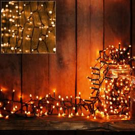Goleto Vánoční LED osvětlení 7 m   teplá bílá 100 LED