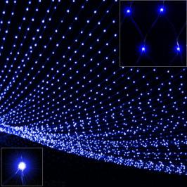 Goleto Vánoční LED sít´2 x 1,5 m   modrá 160 LED