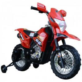 Goleto Dětská elektrická Cross motorka 105 x 53 x 70 cm | červeno-černá