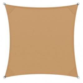 Goleto Stínící plachta proti slunci 3 x 3 m polyester | písková
