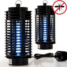 Elektrický lapač hmyzu 2 kusy | černý
