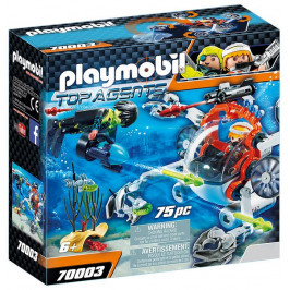 Playmobil Playmobil 70003 Spy Team Ponorka