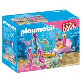 Playmobil Playmobil 70033 StarterPack Kočár s mořskými koníčky