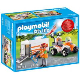 Playmobil Playmobil 70053 Záchranářská čtyřkolka se zvukem a světly