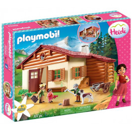 Playmobil Playmobil 70253 Heidi a dědeček na salaši