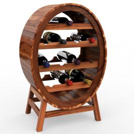 Goleto Stojan na víno 90 cm | akáciové dřevo