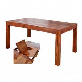 Rozkládací stůl Gani 140/180x90 z indického masivu palisandr, Only stain