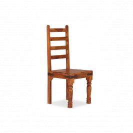 Židle Jali z masivu palisandr, Only stain