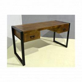 Psací stůl Retro 150x77x60 z indického masivu mango, Retro