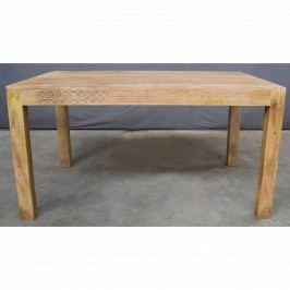 Jídelní stůl Manu 175x90 z mangového dřeva, Mango natural