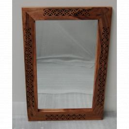 Zrcadlo Mira 60x170 z indického masivu palisandr, Only stain