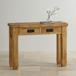 Konzolový stůl Devi 110x76x40 z mangového dřeva, Mango natural