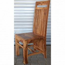 Židle Gani z indického masivu palisandr, Natural