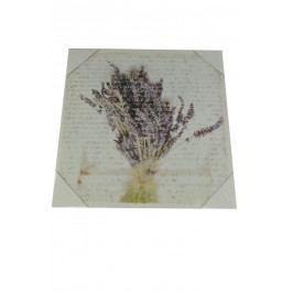 Obraz lev. kytice 28x28cm