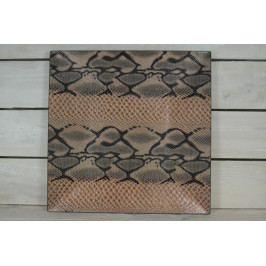 Umělý tác - hadí vzor (32,5x32,5 cm)