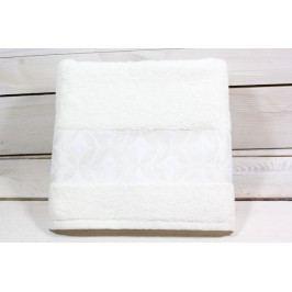 Ručník froté (48x88 cm) - máslový VZOR 18