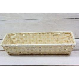 Proutěný košík (30,5x6,5x11 cm)