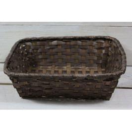 Proutěný košík (18,5x6,5x19 cm)