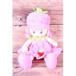 Plyšová panenka JAHŮDKA - růžová (v. 40 cm)