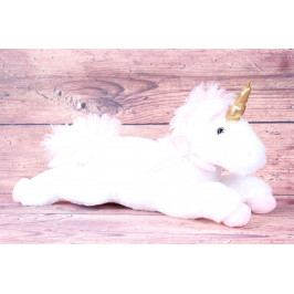 Plyšová hračka JEDNOROŽEC - růžovo-bílý (d. 46 cm)
